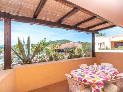 Photo for Holiday Apartment with Terrace in Residence with Direct Beach Access; Parking Available, Pets Allowed