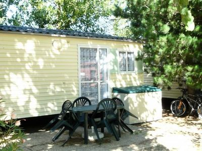 Photo for Camping Au Flamenco *** - Mobil Home Sun 3 Rooms 4 People