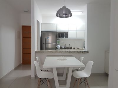 Photo for Excellent apartment with planned furniture located in the center of Praia Grande