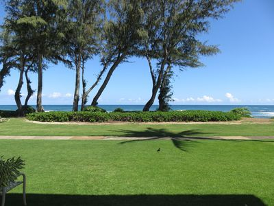 Photo for #131 - Direct Oceanfront Kauai Rental By Owner Ocean View FREE WiFi Parking A/C