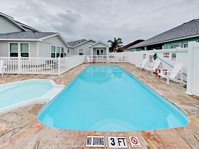 Pool - The shared pool is steps from your door.