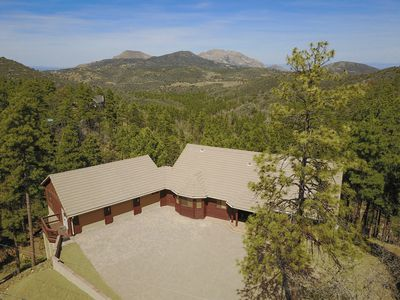 Photo for Breathtaking Treetop 5600 Square Foot Mountainside Lodge