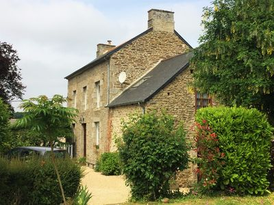 Photo for Charming, spacious and bright, quiet, for 10/13 people, near Dinan