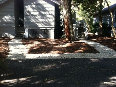 2BR Oceanwoods Cottage, Short Walk to Beach and Park