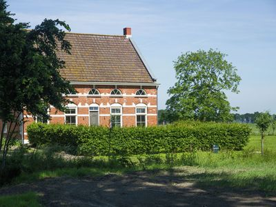 Photo for Stunningly renovated mansion with a beautiful view over the meadows of Zeeland