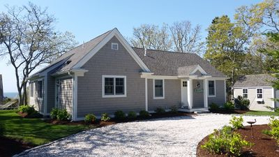Photo for Views of  Nantucket  Sound and Walk to 2 Beaches from Charming Cape Cod Cottage.