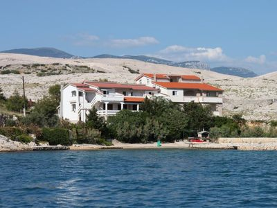 Photo for Apartment in Kustići (Pag), capacity 4+1