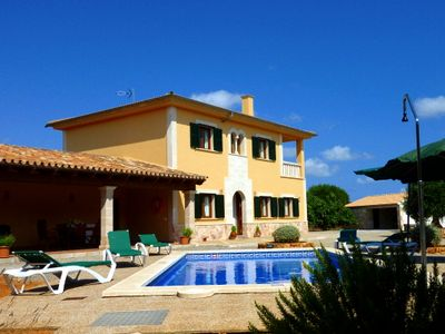 Photo for Comfortable, well-equipped holiday home with pool in a quiet rural location