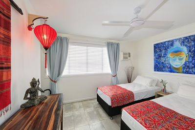 Master bedroom can be King Size or Twin Share