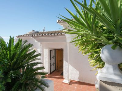 Photo for Beautiful villa with views and private pool in Moraira on the Costa Blanca