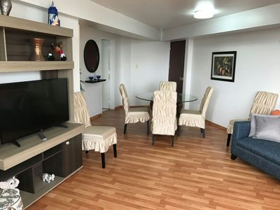 Photo for MIRAFLORES: Beautiful Deluxe APARTMENT+GYM #1