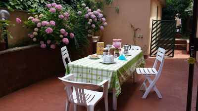 Photo for ROME-TRIUMPHANT APARTMENT WITH GARDEN