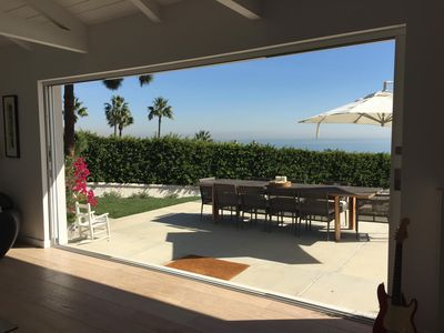 Photo for Contemporary Malibu living with spectacular views and convenient beach access