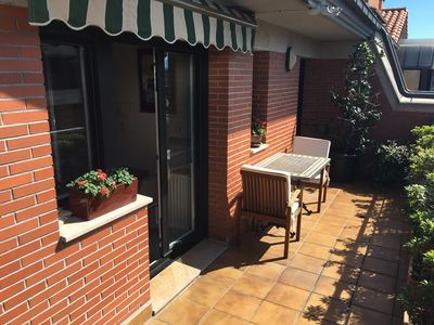 Photo for SUN FILLED PENTHOUSE, LARGE BALCONIES, QUIET, CLOSE TO CENTER, PARKING, WIFI