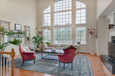 Another view of the beautiful living room.
