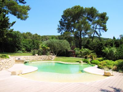 Photo for Sublime villa - Aix en Provence - quiet - with natural swimming pool