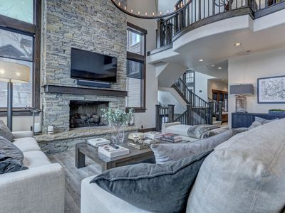 Photo for Modern Deer Valley Slopeside Perfection. Newly Remodeled + Hot Tub