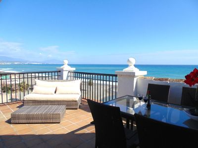 Photo for Beach Front - Port Side - Penthouse - Internet - International TV