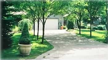 Outside front of property