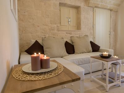 Photo for Stunning Trullo in quiet Olive Grove - apartment Terra