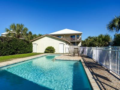 Photo for Private Pool! Across The Street From The Beach! West End PCB!