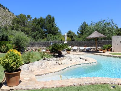 Photo for Cozy  three bedroom villa with private pool in  Pollensa in a peaceful location