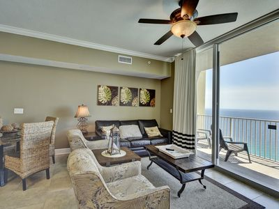 Photo for 2911 Tidewater Two Bedroom Three bathroom Gulf Front Unit w/ Free Beach Service