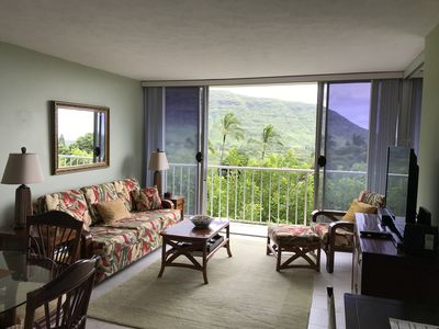 Photo for Makaha Valley Towers, 1 Bedrm, Non-Smoking Enviro, furnished w/ beautiful view