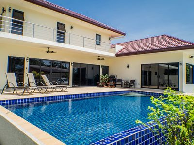 """Photo for """"SECLUDED LUXURY POOL VILLA SLEEPING UP TO 8 WITH FREE AIRPORT TRANSFERS"""""""