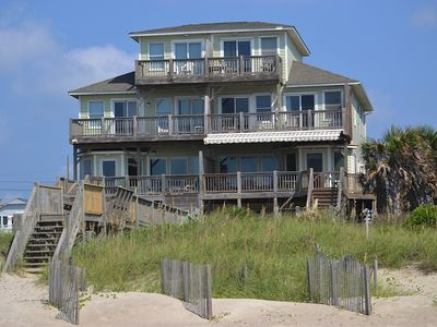 Photo for Family and Dog Friendly Oceanfront Home, Newly Renovated