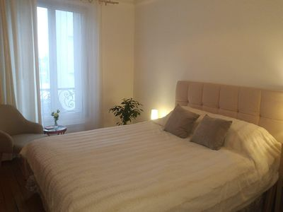 Photo for Paris - Charming 2 rooms comfortably located 4 people
