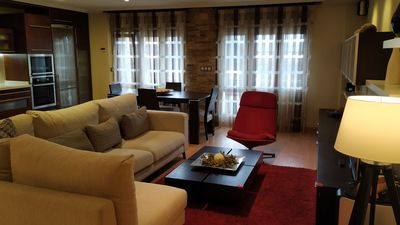 Photo for Luxury apartment in the center of Gijon with garage