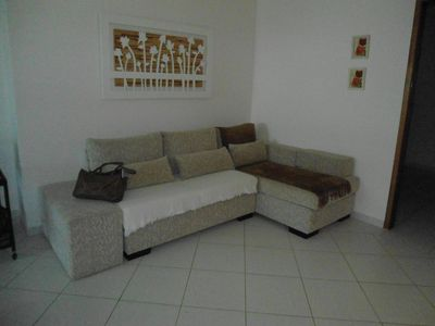 Photo for Beautiful apt With 3 suites with 2 parking spaces 80 meters from the Praia Grande Beach