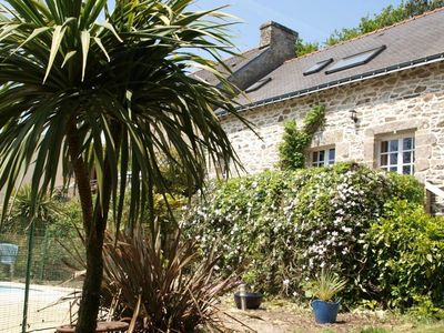 Photo for A wonderful cottage full of character with heated swimming pool and gym