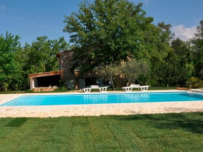 """Photo for """"La Bastide des Loirs"""" (8 people): heated pool between the olive trees!"""