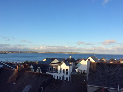 Photo for Converted Warehouse with far reaching views over Mounts Bay