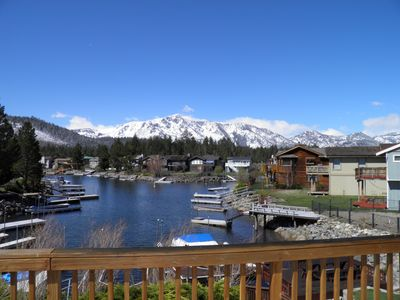 Photo for 584 Alpine Tahoe Keys Waterfront Home with Awesome Mount Tallac Views & Private Boat Dock
