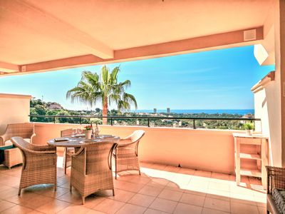 Photo for Hillside apartment w/ shared pool near golfing, natural beauty, parks, and beach