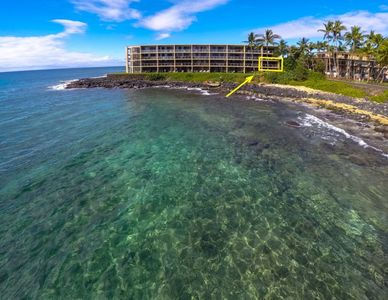 Located on the bayside perfect for turtle watching