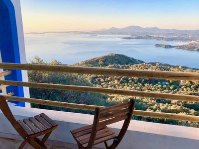 Photo for House Tanna. Spectacular Views Corfiot Riviera!!