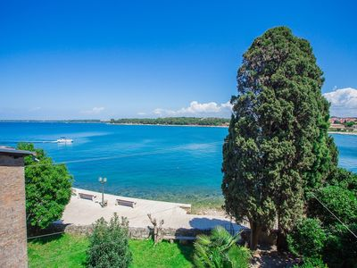 Photo for Old Town Apartment with Sea View in the City Centre of Poreč