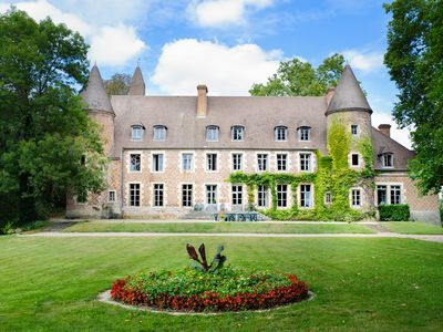 Photo for 8 bedroom Chateau, sleeps 15 with Pool and FREE WiFi