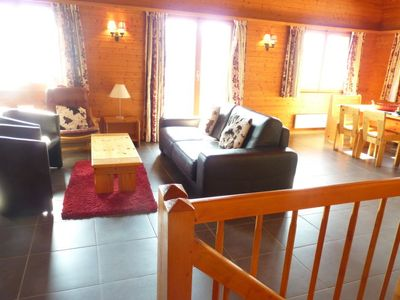 Photo for Vacation home Ardévaz I in Ovronnaz - 8 persons, 4 bedrooms