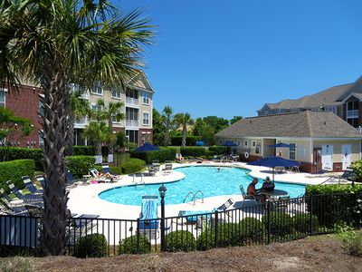 Photo for **PEACEFUL GOLF VIEWS** Elevator Building! Luxurious Barefoot 3BR!***