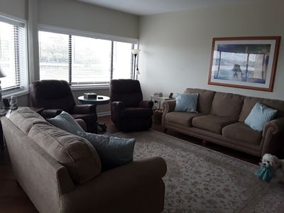 Photo for Waterfront! Winter rental Beautiful and  Convenient