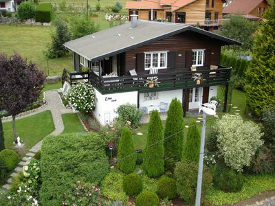 Photo for Romantic Chalet L'Eau Vive