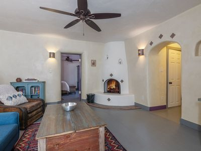 Photo for Classic 1 bedroom 1 bath adobe casita in the heart of historic Santa Fe