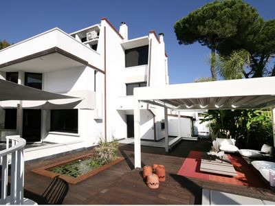 Photo for open space villa in versilia-tuscany with whirlpool 400 meters from the sea