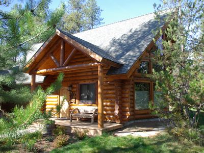 Photo for High End Finishes, Log Cabin Close To Lake, Downtown and Ponderosa