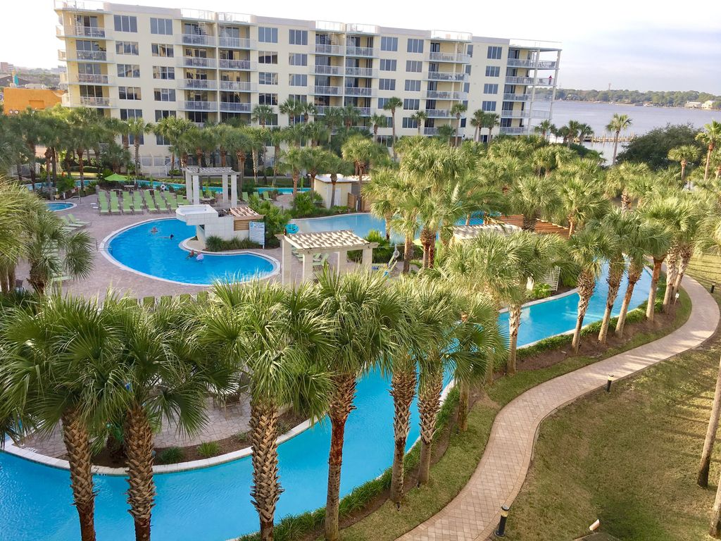 Ft Walton Beach Condo Al The Gorgeous View Over Looking Lazy River And Bay